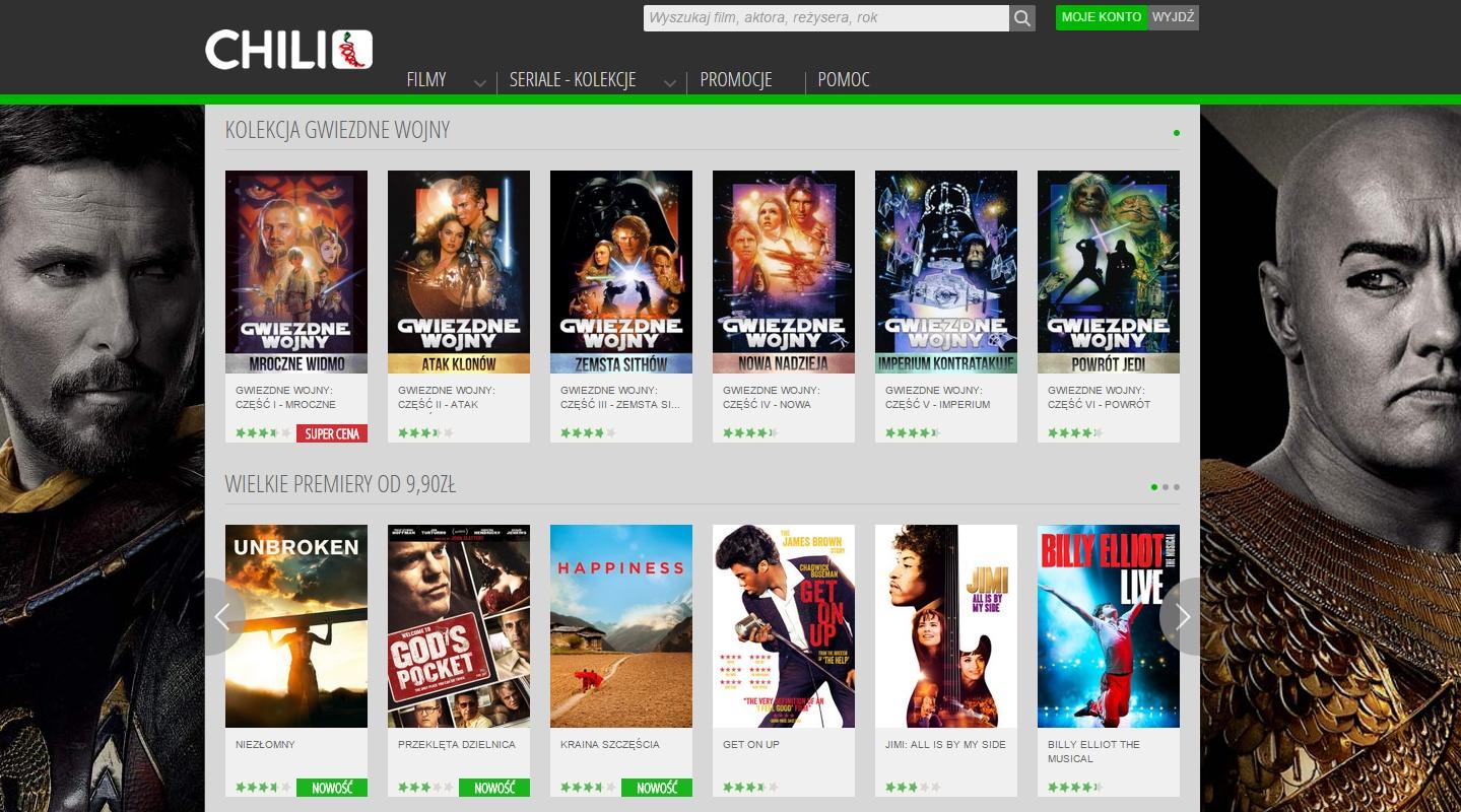 Gwiezdne Wojny - filmy online