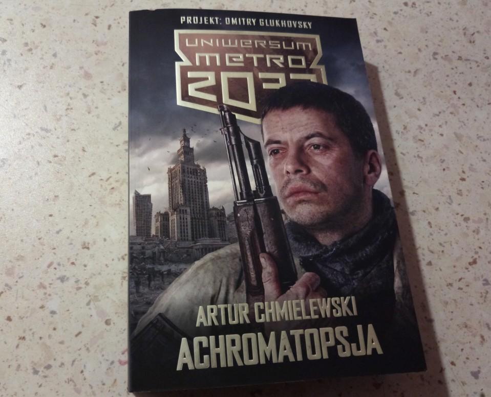 Artur Chmielewski - Achromatopsja - książka