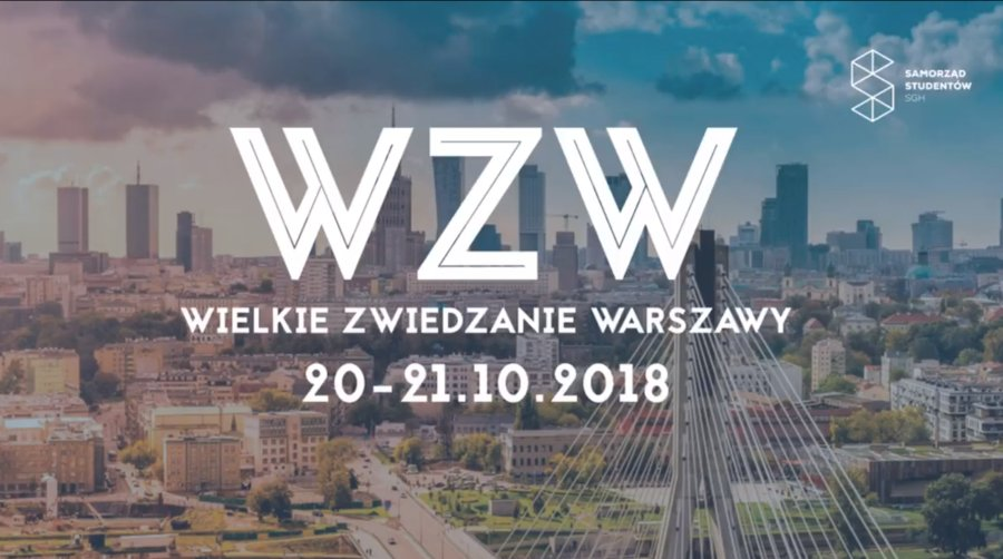 Wielkie Zwiedzanie Warszawy 2018