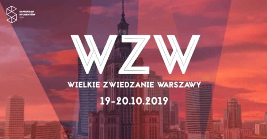 Wielkie Zwiedzanie Warszawy 2019