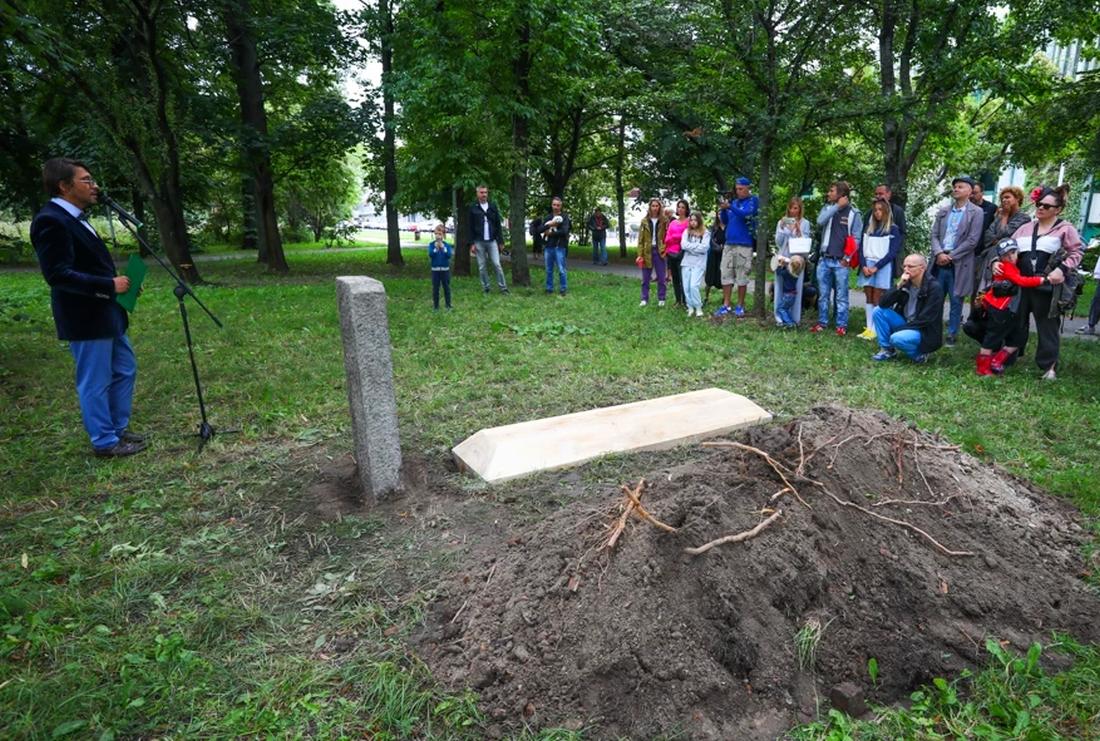 Pogrzeb Topoli